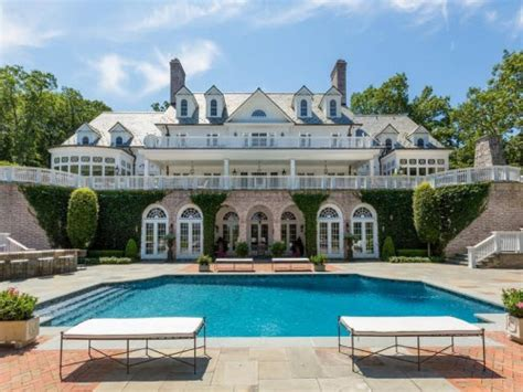 custom mansions estate of the day 22 million waterfront mansion in lloyd