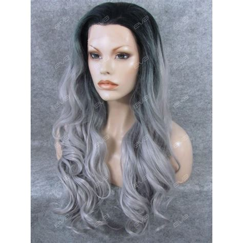 Brown Long Hair With Grey Aroung Front | brown long hair with grey aroung front new fashion dark