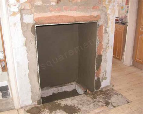 Fireplace Render by Self Build House Extension Kitchen Fireplace