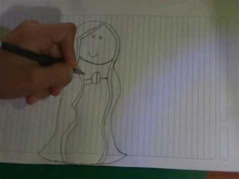 imagenes de la virgen de guadalupe facil para dibujar como dibujar a la virgen de guadalupe facil y sencillo