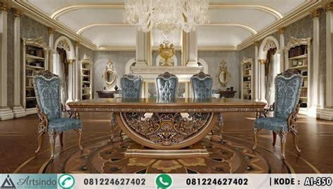 Makan Meja Di Golden Leaf set meja makan mewah tavoli arts indo furniture jepara arts indo furniture jepara
