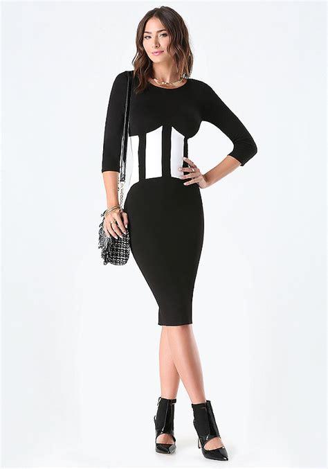3 4 Sleeve Patterned Midi Dress make easier dresses