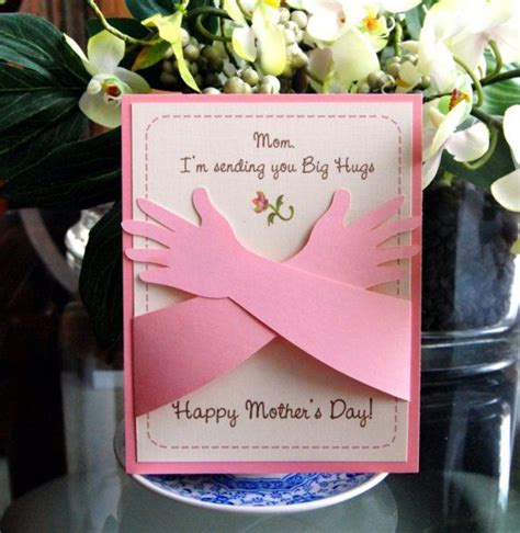 mother s day designs mother s day card hugs i love you this much card ideas