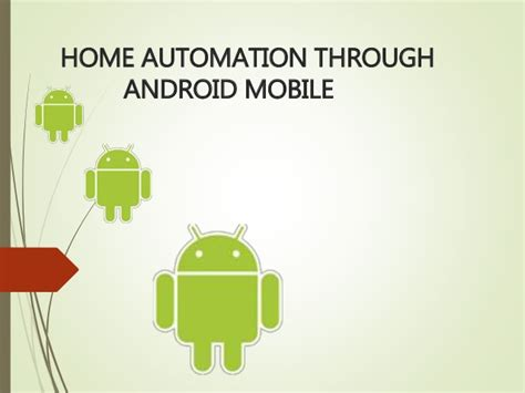 home automation using android free student projects