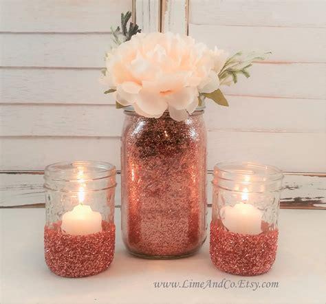 baby shower centerpiece wedding centerpiece rose gold