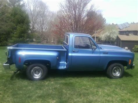 short bed truck cer sell used 1978 chevy c10 short bed stepside pickup in