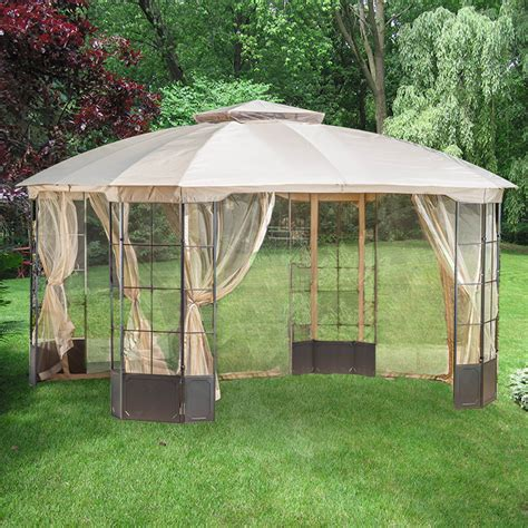 lowes gazebo lowe s gazebo replacement canopy garden winds canada