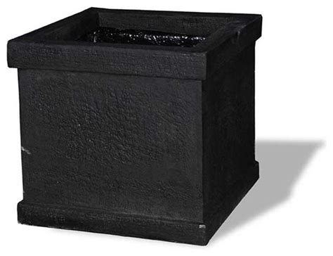 Planter Without Drainage Holes by Modern Square Planter Black 20x20x20 Without Drainage
