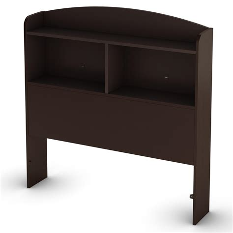 shelf headboards south shore logik twin bookcase headboard 39 quot by oj