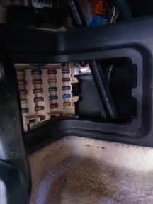 1999 gs300 driver s side fuse box pictures club lexus forums
