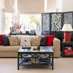 asian themed living room new home interior design traditional living room