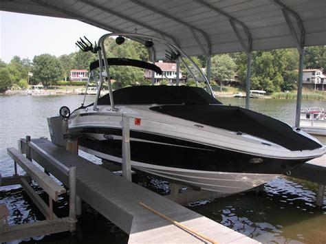 boat lift hewitt nick s custom construction boat lifts