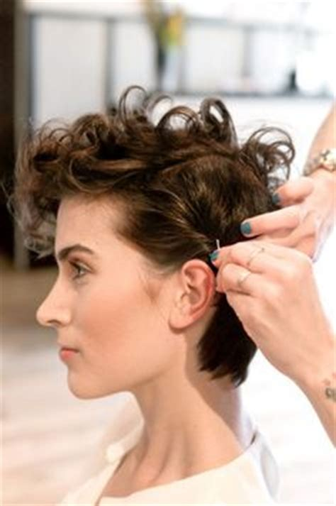 tips for growing out super short hair short curly pixie on pinterest curly pixie hair curly
