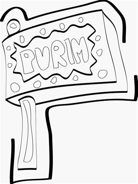 Torah Tots Purim Coloring Page Torah Tots Coloring Pages
