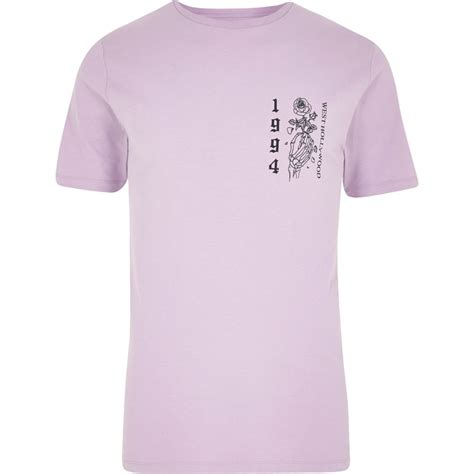 light purple t shirt light purple skeleton slim fit t shirt t shirts