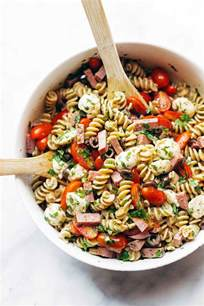 easy cold pasta salad best easy italian pasta salad recipe pinch of yum