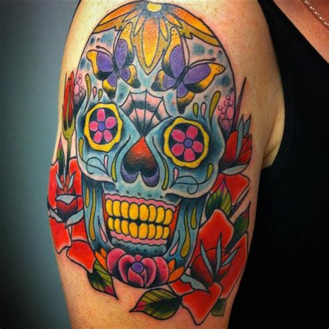 sugar skulls tattoos meaning 125 best sugar skull designs meaning 2018