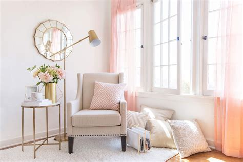 find  style luxe  glam living room nook home