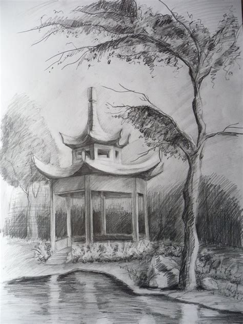 pagoda by bastkk on deviantart