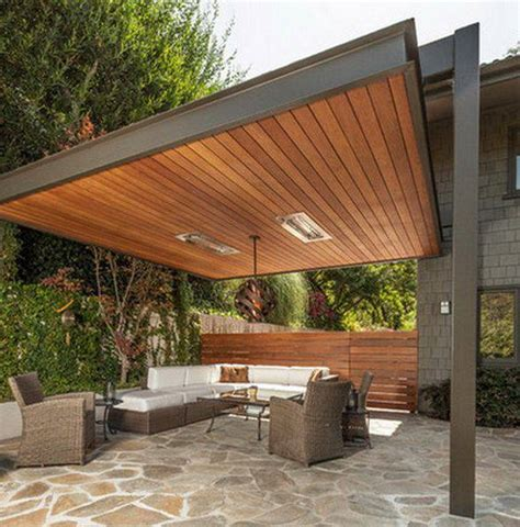 Patio Construction Ideas by 22 Ideas De Dise 241 O Para Terrazas Arquitectura De Casas