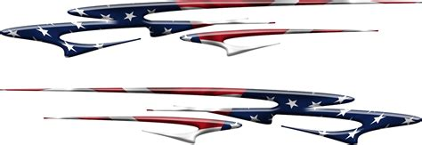 Auto Decal Instructions by American Flag Stripes Auto Decal Graphic B490 Xtreme