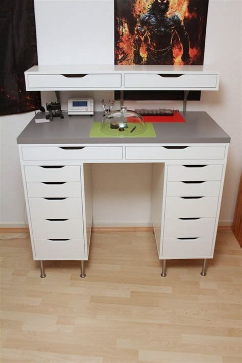 ekby alex desk awesome watchmakers desk from ikea stuff chat about