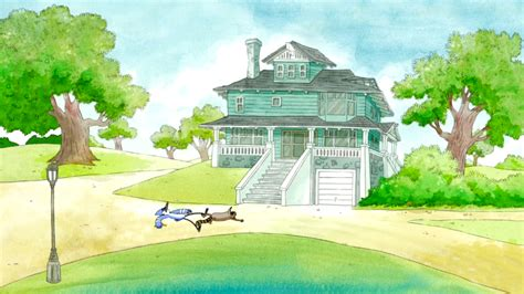 regular house image s5e12 395 mordecai and rigby back at the house png