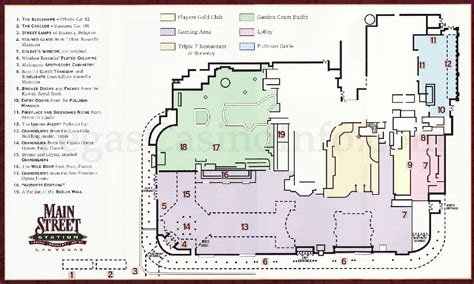 golden nugget floor plan las vegas casino property maps and floor plans