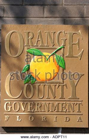 Orlando Florida Records Orlando Florida Rosalind Avenue Orange County Official Records Stock Photo Royalty