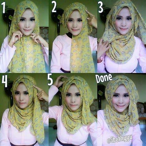 tutorial hijab anak 13 tahun step by step hijab tutorial with folds islamic fashion