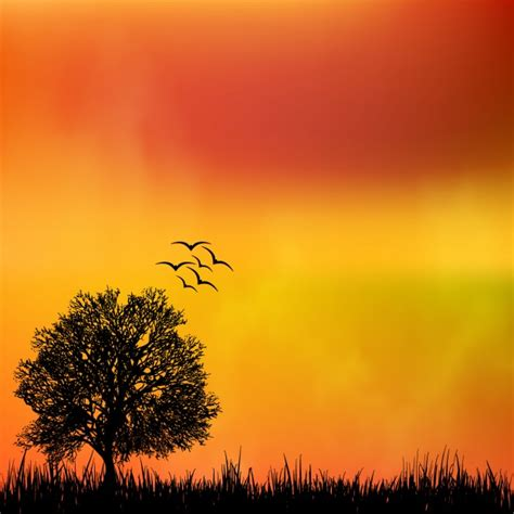 background design of nature nature background design vector free download