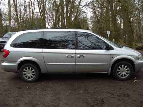 2003 Chrysler Voyager Lx by Chrysler 2003 Grand Voyager Crd Lx Silver For Spares And
