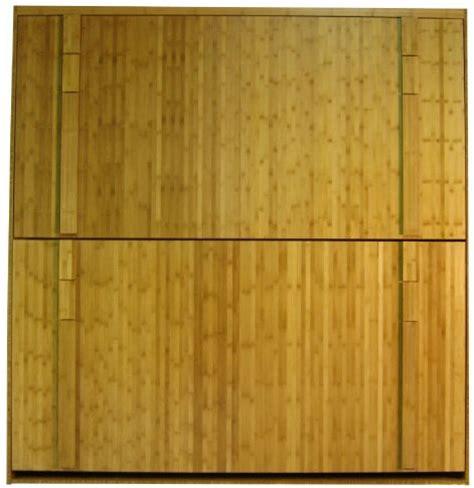 bamboo bunk bed murphy bunk beds wilding wallbeds