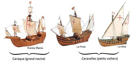 cuales fueron los barcos de cristobal colon les 3 bateaux de christophe colomb