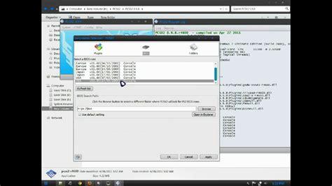 emuparadise pcsx2 pcsx2 0 9 8 download bios plugins and configuration youtube