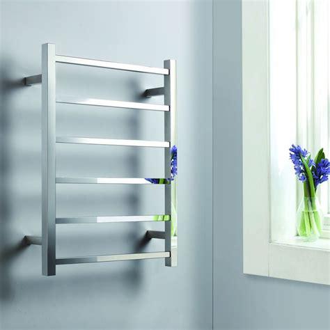 bathroom heater towel rack electric towel warmer with 6 heated towel bars wall