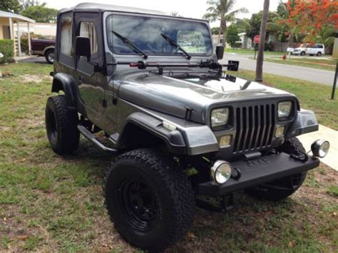 Jeep Inline 6 Buy Used 1990 Jeep Wrangler Inline 6 Cylinder Automatic A