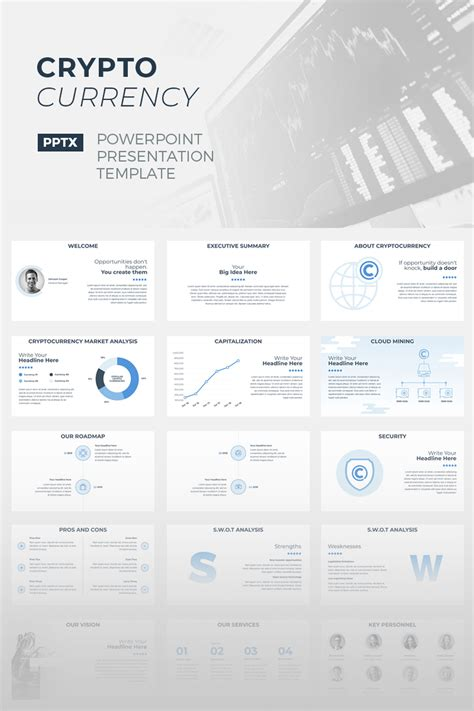 Cryptocurrency Powerpoint Template 67155 Cryptocurrency Html Template Free