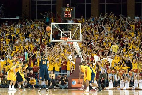 usc student section usc to improve galen center experience daily trojan