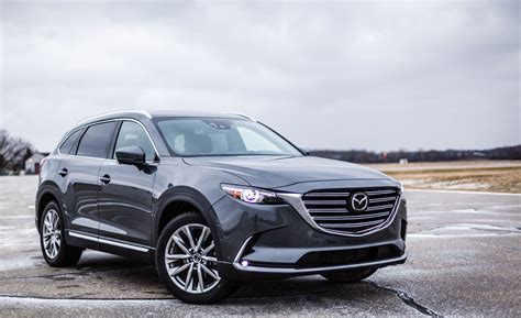mazda 2017 models 2017 mazda cx 9 in depth model review car and driver
