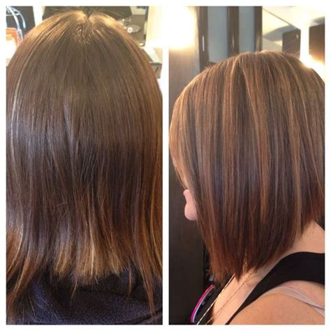 groupon haircut long beach before and after brunette balayage and haircut by bella