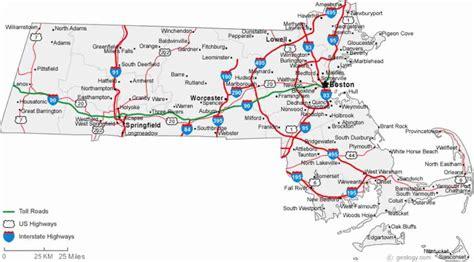 printable map massachusetts towns ma cities map holidaymapq com
