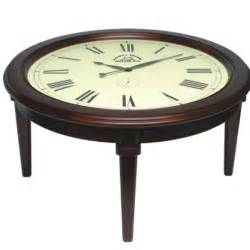 tisch funkuhr clock coffee table collection home design garden