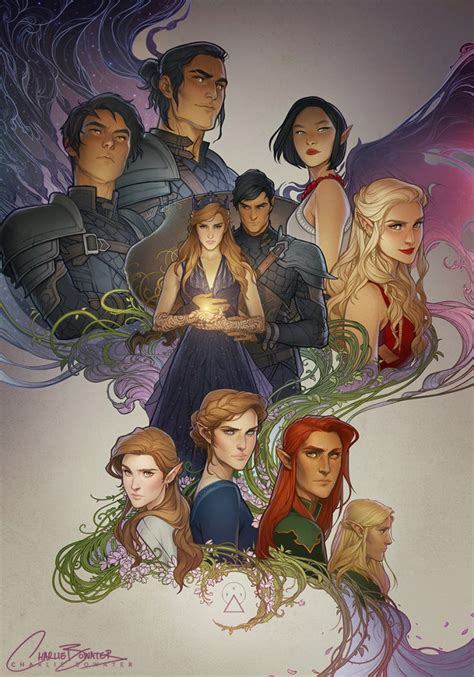 the art of charlie the art of charlie bowater acotar acomaf acowar depepi