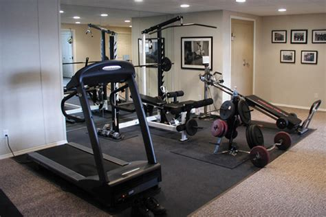 Basement Finishing Ideas by Home Gym Ideas Designing A Home Gym In Your Finished Basement
