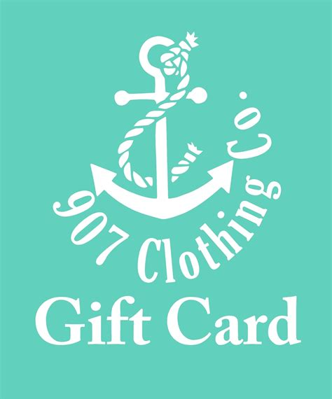 Squarespace Gift Cards - gift cards 907 clothing co