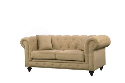 button tufted loveseat kristopher chesterfield modern sand velvet button tufted