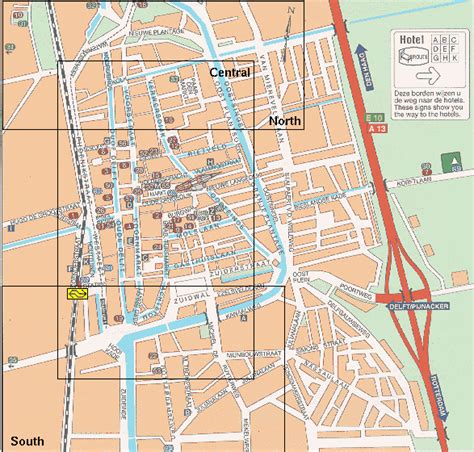 netherlands map delft map of delft