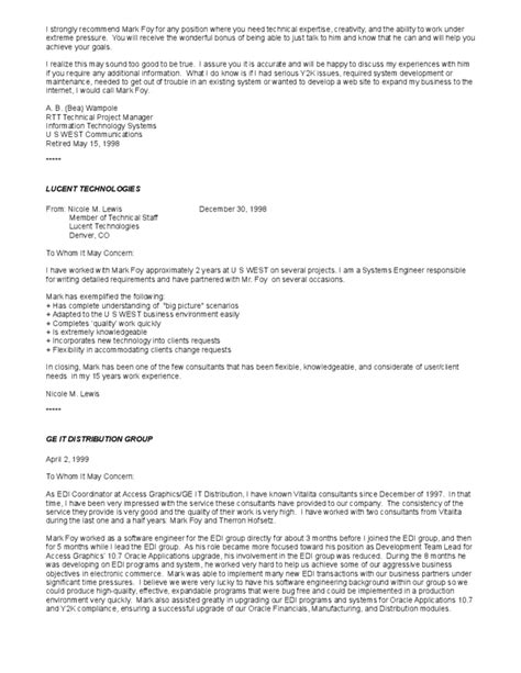 Reference Letter Template Client Recommendation Letters From Clients And Peers Free