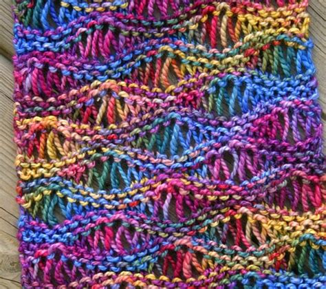 knitting pattern scarf variegated yarn free pattern this drop stitch scarf looks great in
